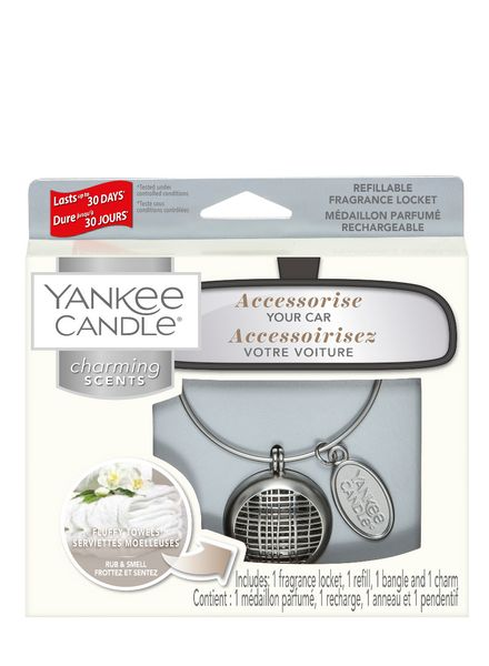 Yankee Candle Yankee Candle Charming Scents Linear Starter Kit Fluffy Towels
