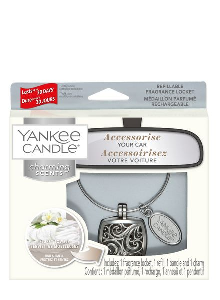Yankee Candle Yankee Candle Charming Scents Square Starter Kit Fluffy Towels