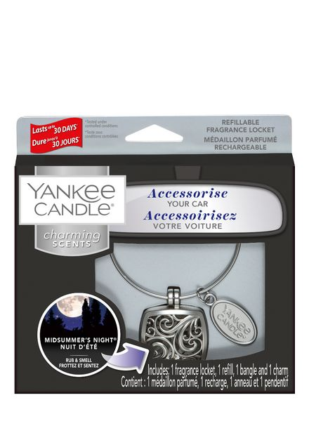Yankee Candle Yankee Candle Charming Scents Square Starter Kit Midsummers Night