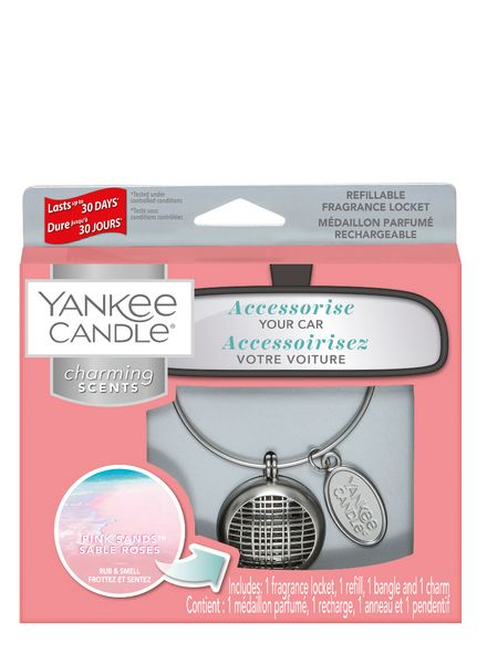 Yankee Candle Yankee Candle Charming Scents Linear Starter Kit Pink Sands