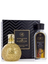Ashleigh & Burwood Geurlamp Golden Orb Giftset