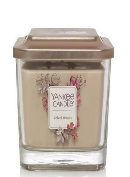 Yankee Candle Velvet Woods Elevation Medium Geurkaars
