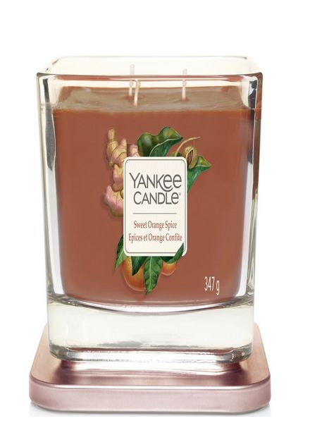 Yankee Candle Yankee Candle Sweet Orange Spice Elevation Medium Geurkaars