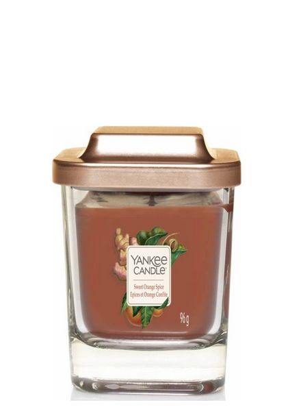Yankee Candle Yankee Candle Sweet Orange Spice Elevation Small Geurkaars