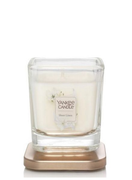 Yankee Candle Yankee Candle Sheer Linen Elevation Small Geurkaars
