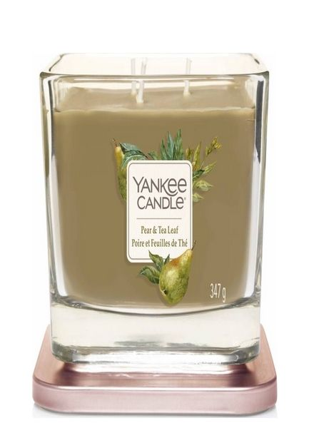 Yankee Candle Yankee Candle Pear & Tea Leaf Elevation Medium Geurkaars