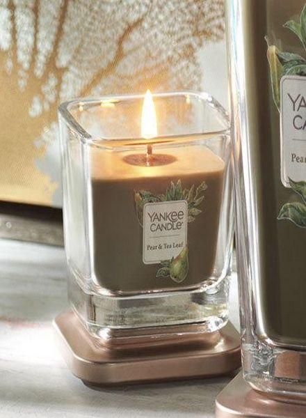 Yankee Candle Yankee Candle Pear & Tea Leaf Elevation Small Geurkaars