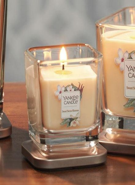 Yankee Candle Yankee Candle Sweet Nectar Blossom Elevation Small Geurkaars