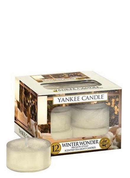 Yankee Candle Winter Wonder Theelichten