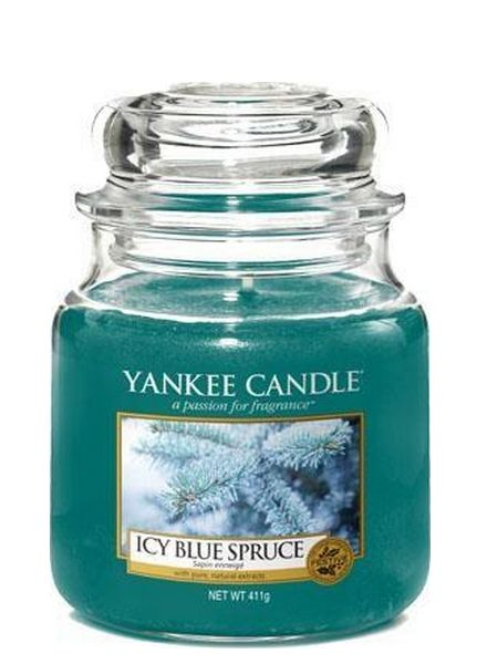 Yankee Candle Yankee Candle Icy Blue Spruce Medium Jar