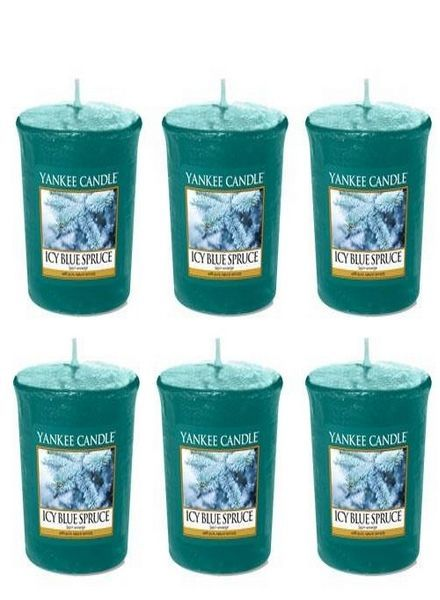 Yankee Candle Icy Blue Spruce 6 Votive