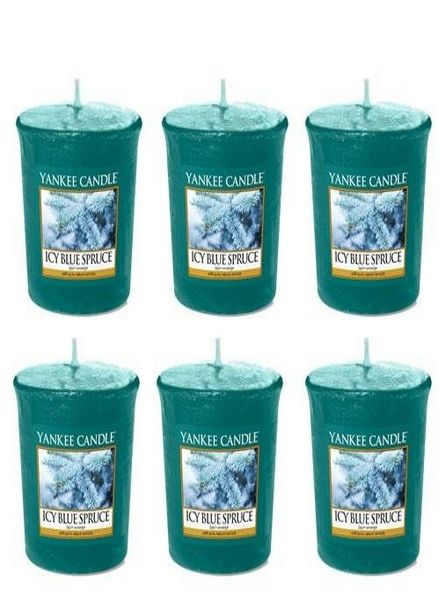 Yankee Candle Yankee Candle Icy Blue Spruce 6 Votive