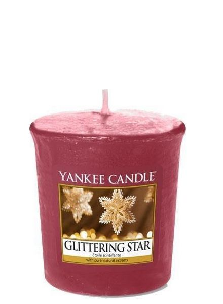 Yankee Candle Yankee Candle Glittering Star Votive