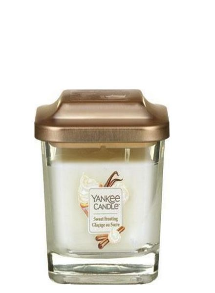 Yankee Candle Yankee Candle Sweet Frosting Elevation Small Geurkaars