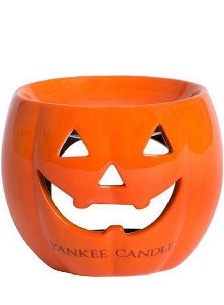 Yankee Candle Yankee Candle Halloween Tart Warmer Pumpkin Oranje