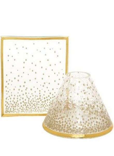 Yankee Candle Holiday Sparkles Large Shade & Tray