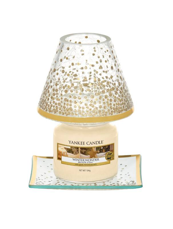 Yankee Candle Yankee Candle Holiday Sparkles Small Shade & Tray
