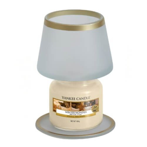 Yankee Candle Yankee Candle Frosty Small Shade & Tray