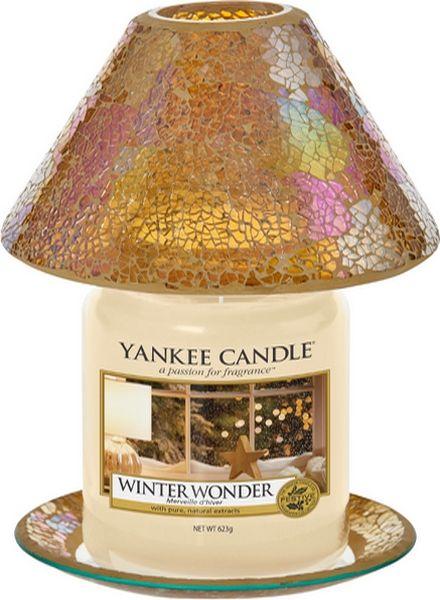 Yankee Candle Yankee Candle Glam Mosaic Large Shade & Tray