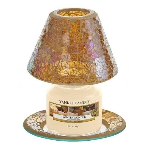 Yankee Candle Yankee Candle Glam Mosaic Small Shade & Tray