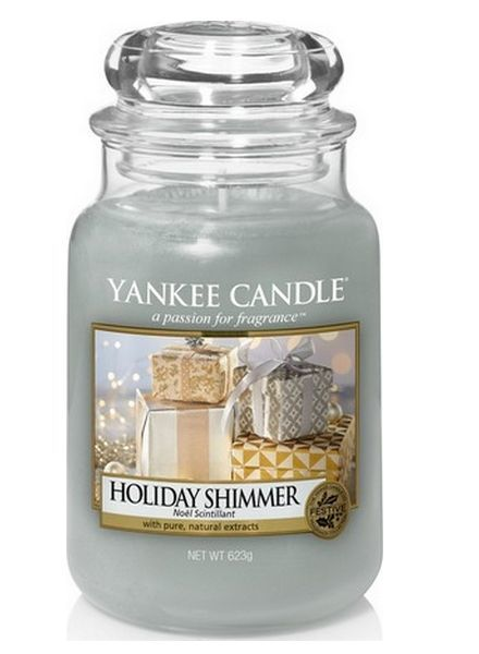 Yankee Candle Holiday Shimmer Large Jar