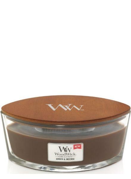 Woodwick WoodWick Amber & Incense Ellipse
