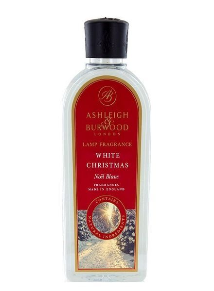 Ashleigh & Burwood Geurlamp Olie Ashleigh & Burwood White Christmas 500 ml