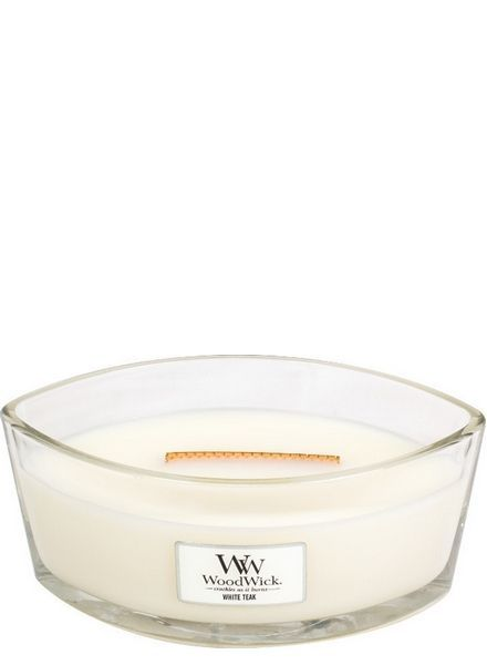 Woodwick Ellipse White Teak