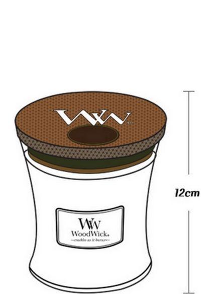 Woodwick WoodWick Medium Candle White Teak