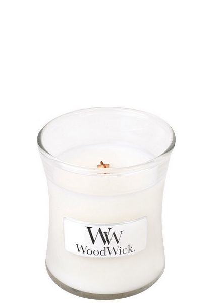 Woodwick Mini White Teak