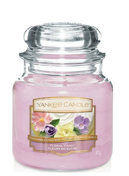 Yankee Candle Floral Candy Medium Jar