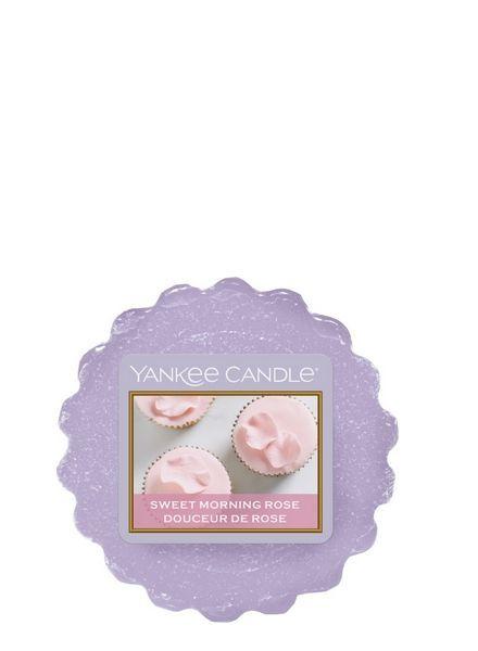 Yankee Candle Sweet Morning Rose Tart