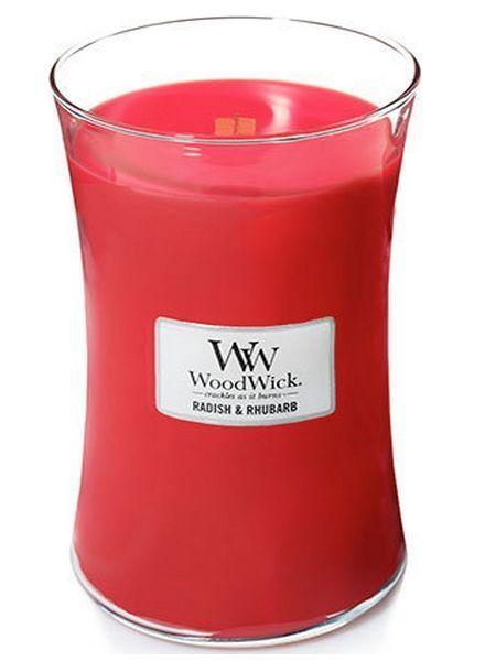 Woodwick Large Radish & Rhubarb
