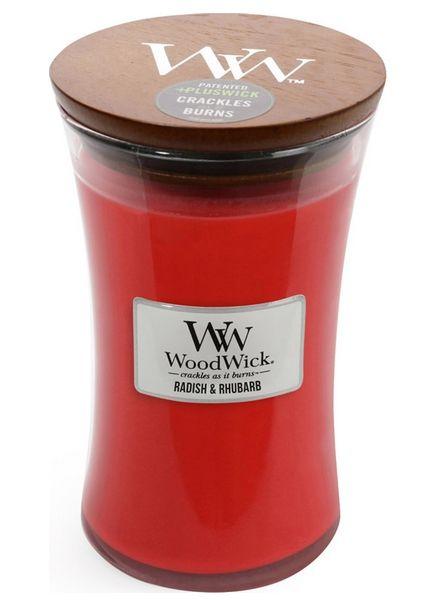 Woodwick WoodWick Large Candle Radish & Rhubarb