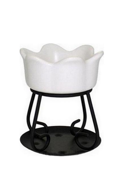 Yankee Candle Yankee Candle Tart Warmer Petal Bowl White