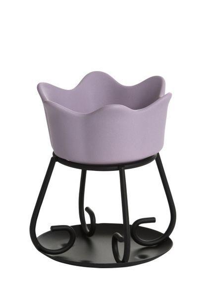 Yankee Candle Tart Warmer Petal Bowl Purple