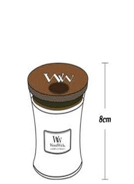 Woodwick WoodWick Mini Candle Black Amber & Citrus