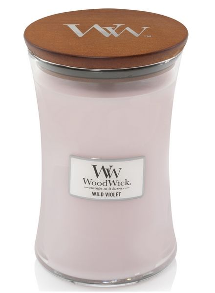 Woodwick WoodWick Large Candle Wild Violet