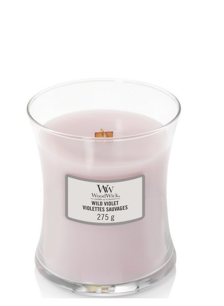 Woodwick WoodWick Medium Candle Wild Violet
