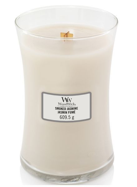 Woodwick Large Smoked Jasmine