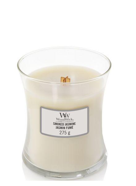 Woodwick WoodWick Medium Candle Smoked Jasmine