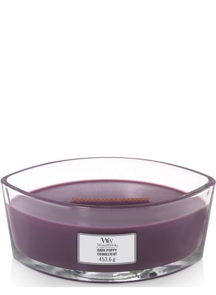 Woodwick Ellipse Dark Poppy