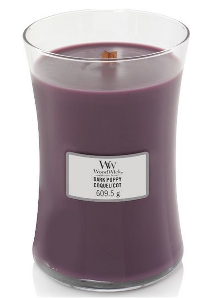 Woodwick Large Dark Poppy