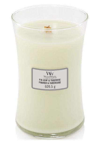 Woodwick Large Fig Leaf & Tuberose