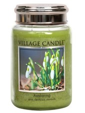Village Candle Awakening Large Jar