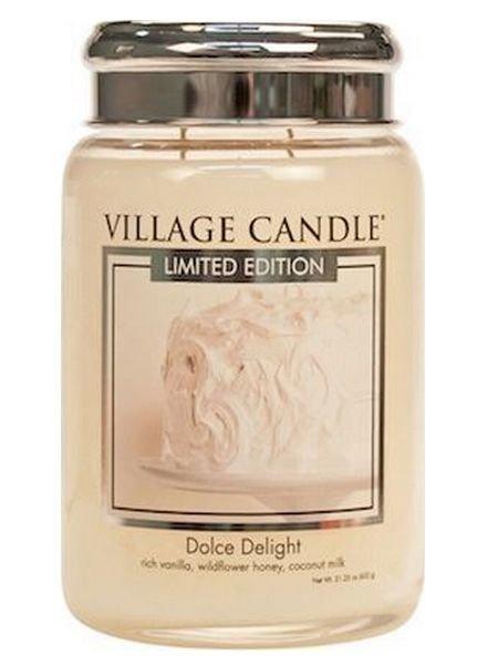 Village Candle Dolce Delight Large Jar