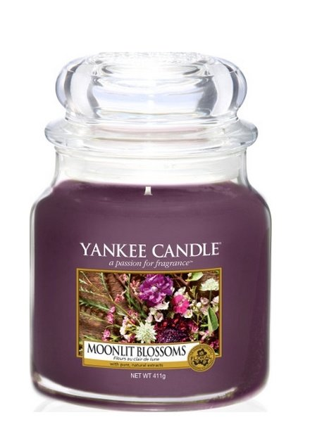 Yankee Candle Moonlit Blossoms Medium Jar