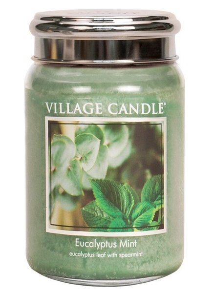 Village Candle Eucalyptus Mint Large Jar