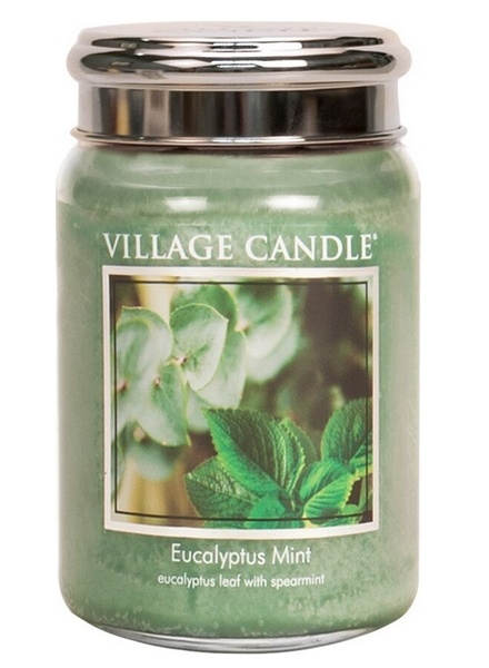 Village Candle Village Candle Eucalyptus Mint Large Jar