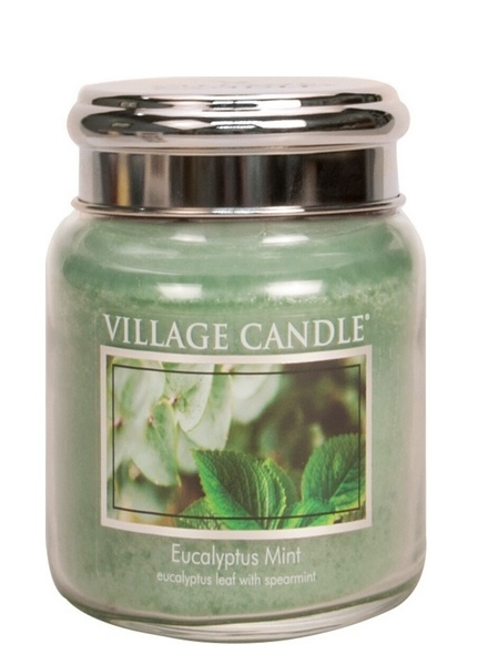 Village Candle Village Candle Eucalyptus Mint Mediuim Jar